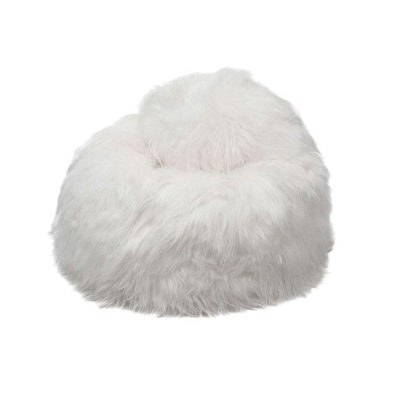 Icelandic ECO säkkituoli lampaantaljasta, pitkä karva