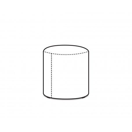 Säkkituolin rahi PUFFA dot, NL-kangas