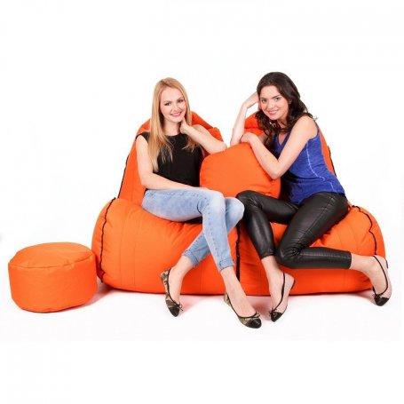 Zipper Malibu Säkkituoli sohva PUFFA, NL-kangas