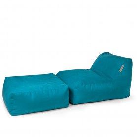 Säkkituoli Pushbag CHAIR JA EASY soft kangas