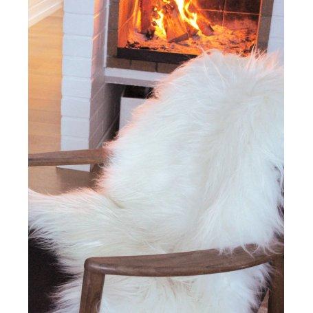 Valkoinen lampaantalja 110, Icelandic, XL koko