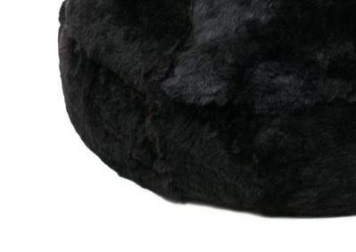 Black Brown short wool