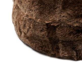 Rusty Brisa Brown short wool